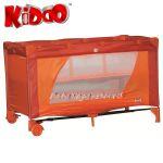 Кошарка за бебе на 2 нива FUN N NAP от KIDDO 4007 в червен/оранжев нюанс