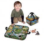 Игра-кутия мини зоопарк с животни ZipBin - 1291XS