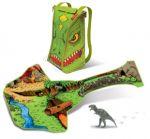Раница ДИНО с играчка-динозавър ZipBin - 1289P